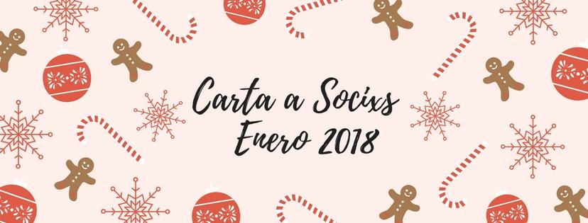 CARTA SOCIXS – ENERO 2018