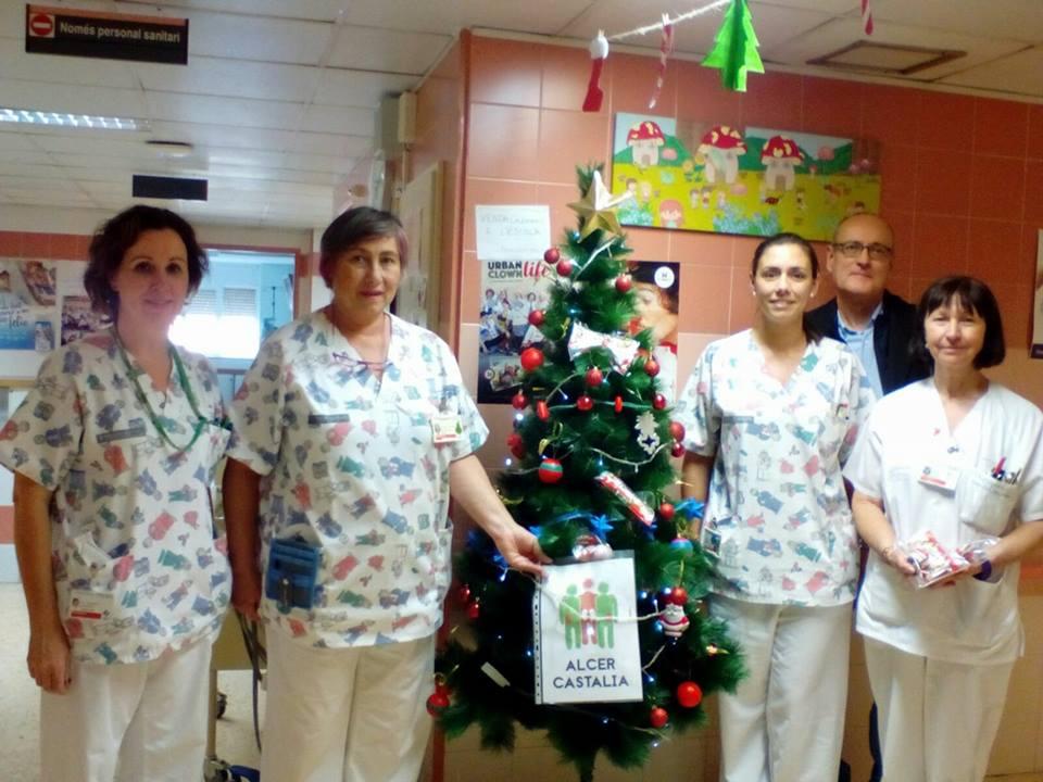 ALCER CASTALIA celebra la Navidad 2