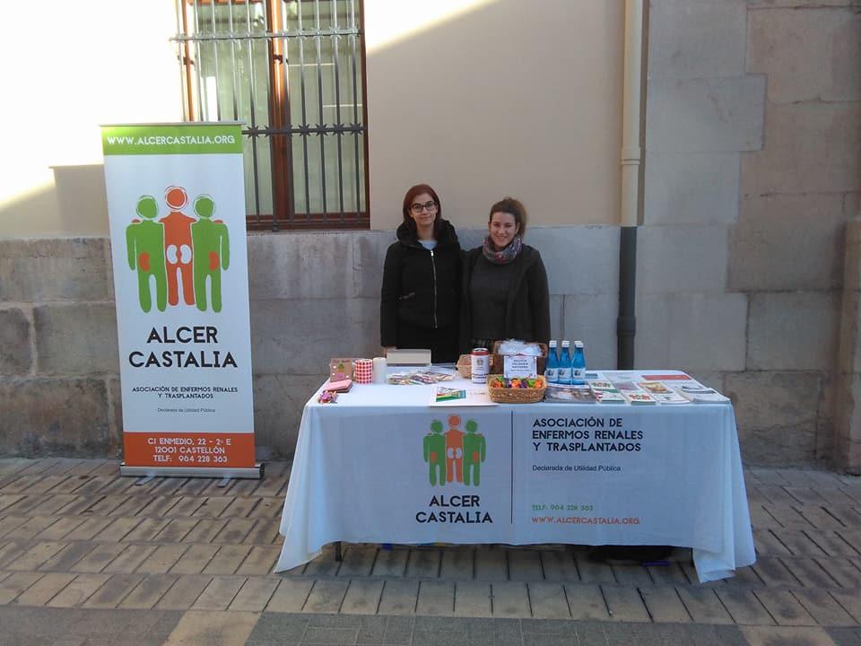 Mesa Informativa ALCER CASTALIA