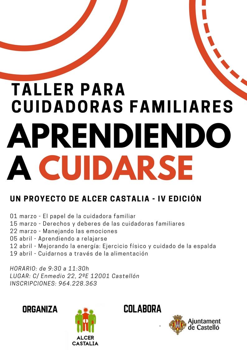 TALLER PARA CUIDADORAS FAMILIARES