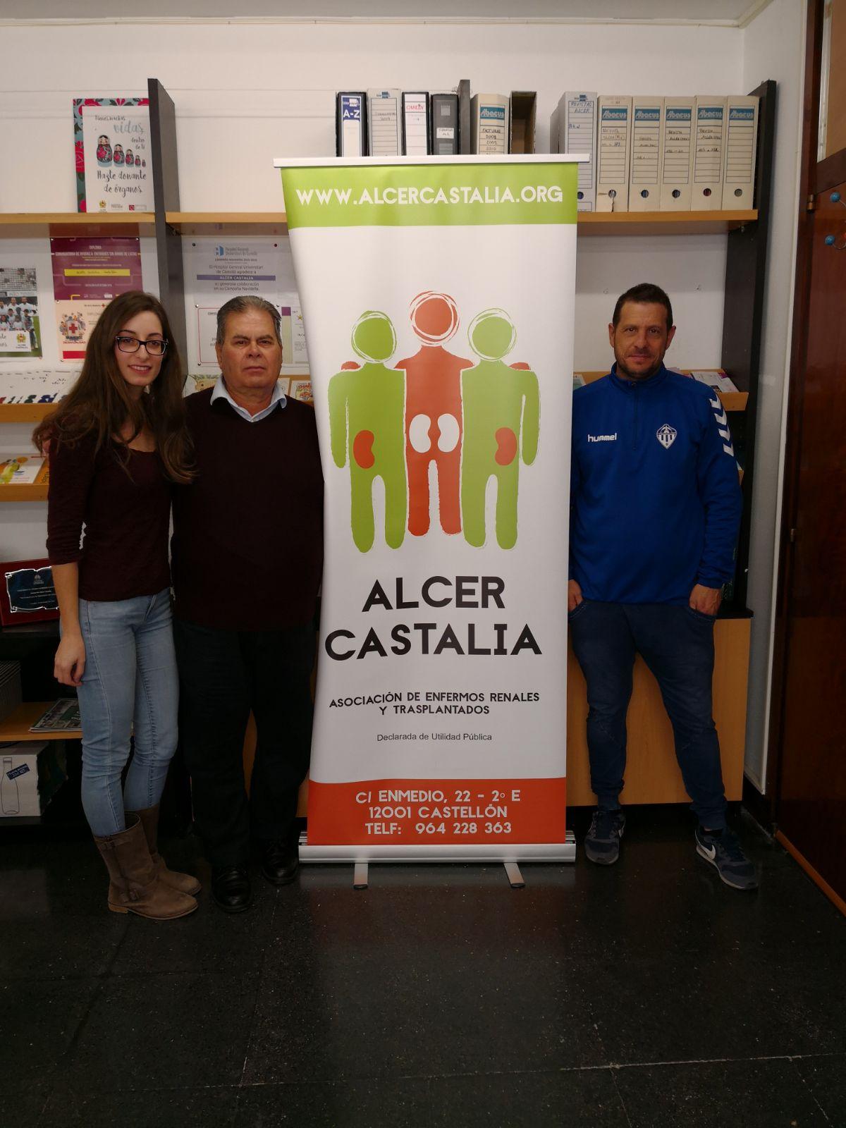 ACTO JUNTO A FEDPECAS Y CLUB DEPORTIVO CASTELLÓN